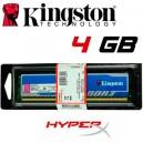 Memoria DDR-3 4096MB PC-1600 HYPER-X Kingston