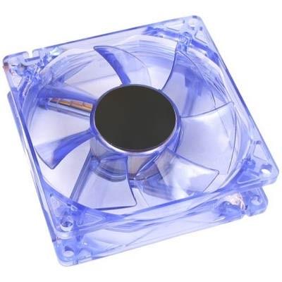 Ventilador de caja 14x14 Eros LED azul