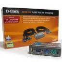 KVM Automático CPU 2x1 D-Link DKVM-2KU PS/2