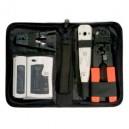 Kit de herramientas para redes + testeador