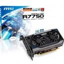 SVGA ATI Radeon HD7750 MSI 1GB DDR5